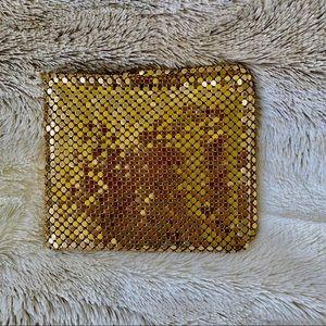 Vintage Gold Mesh Wallet